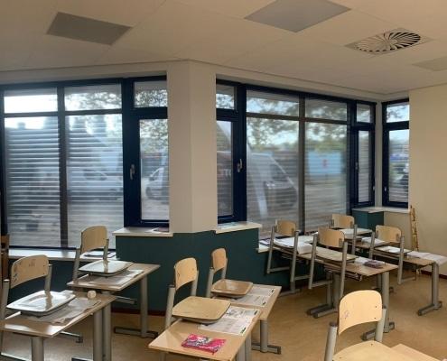 Zonwering school - MULTIFILM binnen zonwering